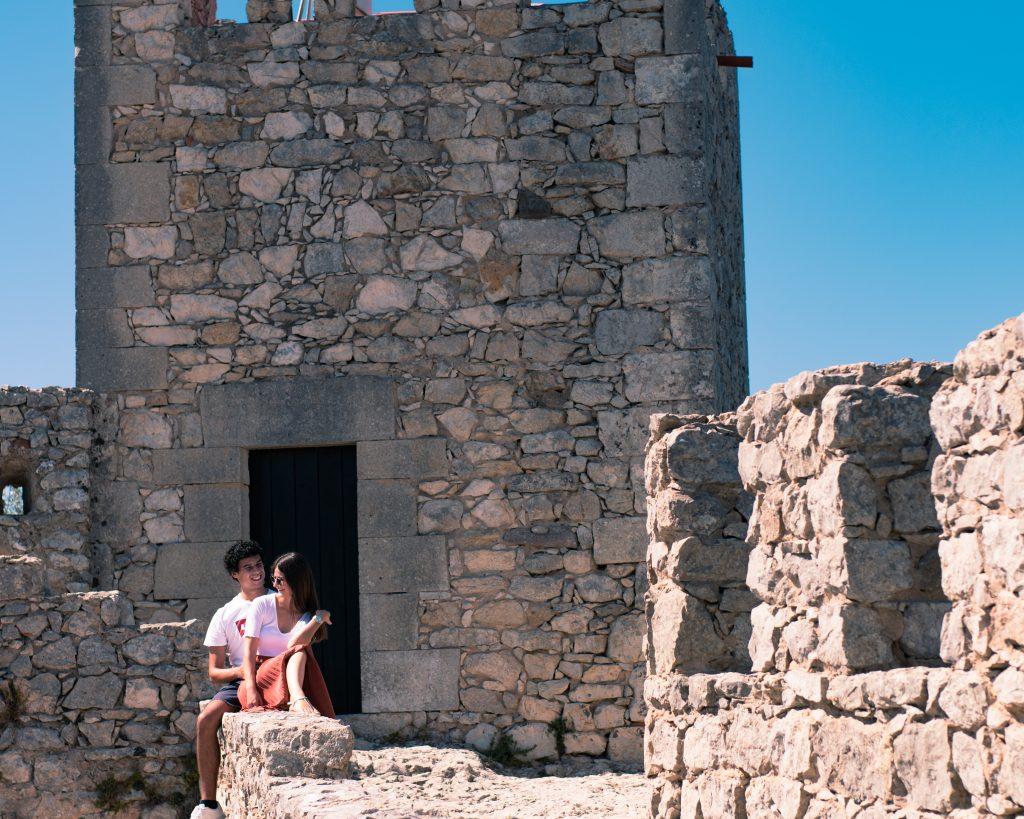 Serra da Arrábida: Interior Castelo de Sesimbra