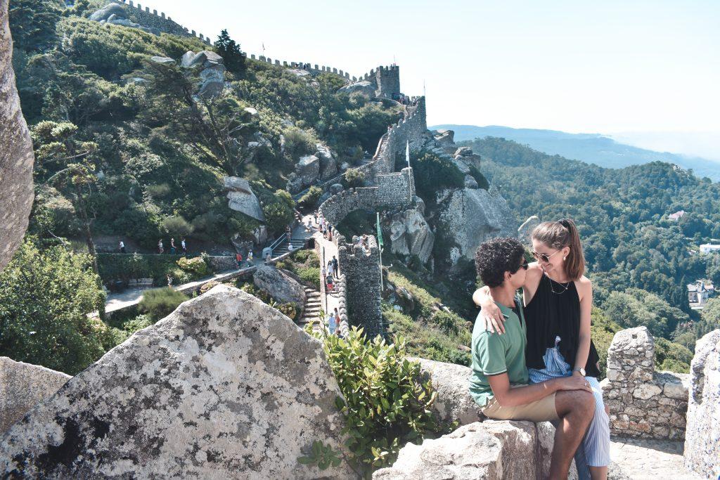 Sintra, o que vistar: Jardins-Castelo-dos-Mouros