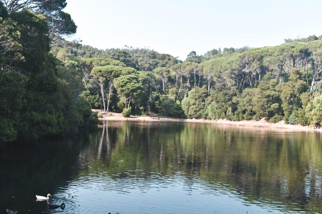 Sintra, o que vistar: Lago-Lagoa-Azul