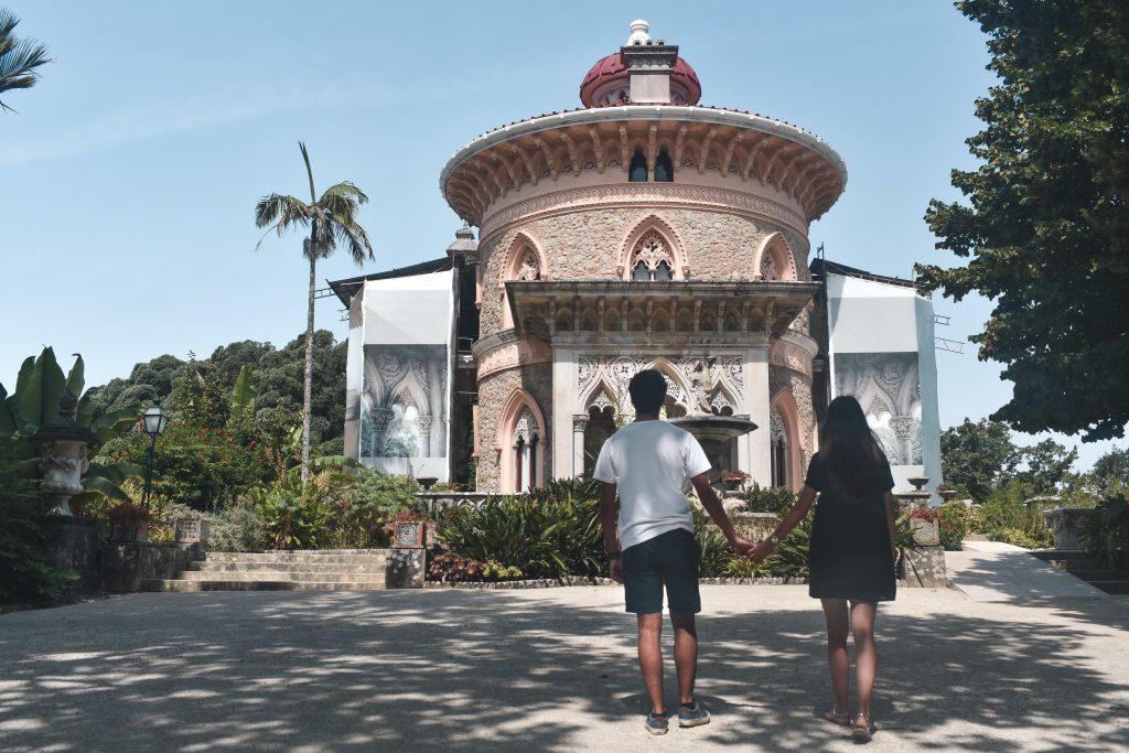 Sintra, o que vistar: Entrada-Palacio-Monserrate
