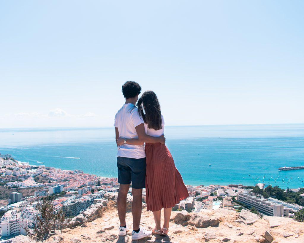 Serra da Arrábida: Vista Castelo de Sesimbra