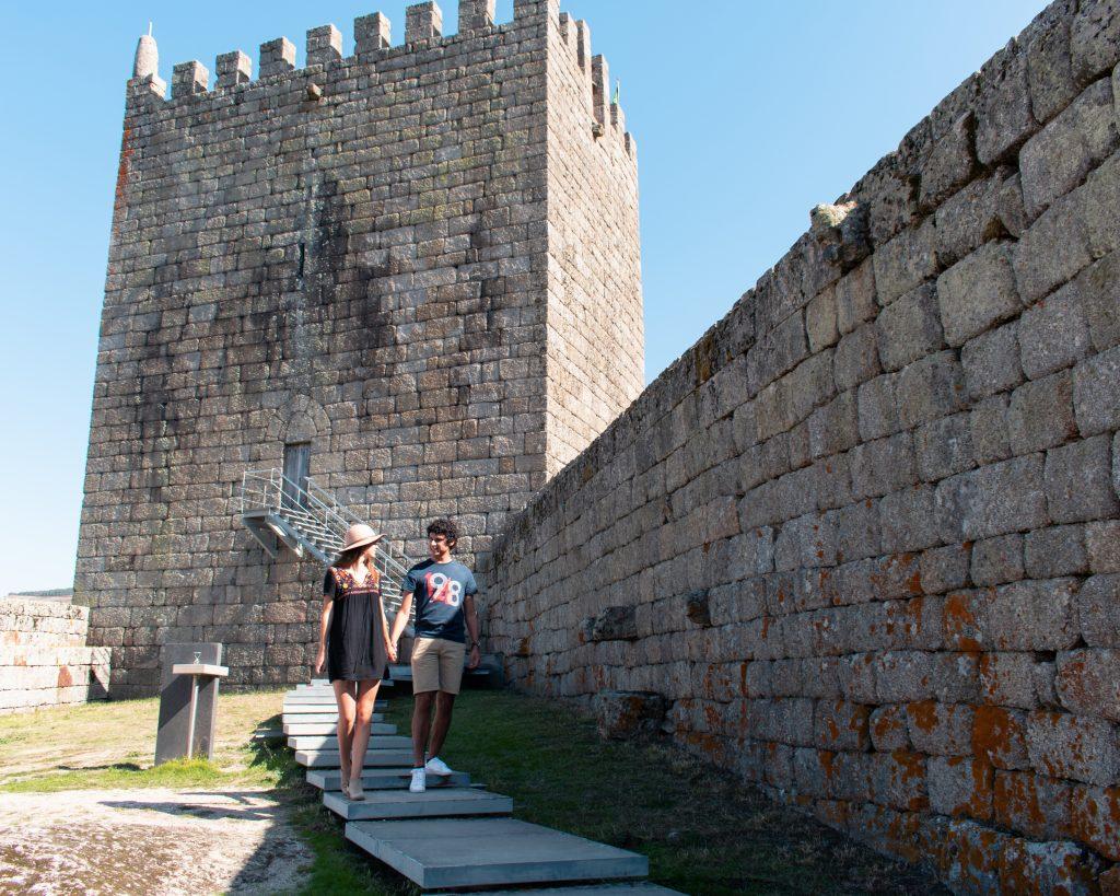 Serra da Estrela castelo Linhares da Beira