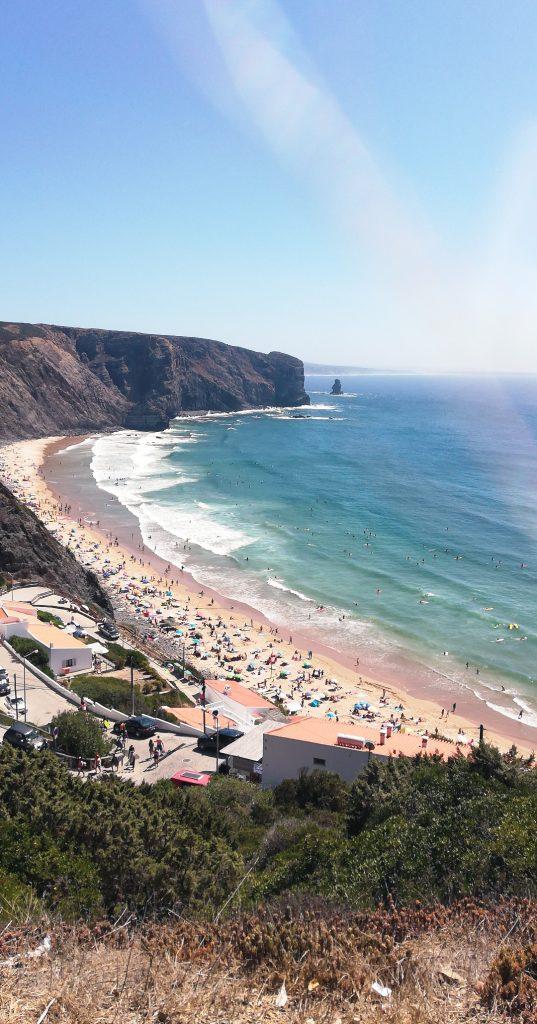 Praias portuguesas - praia da arrifana