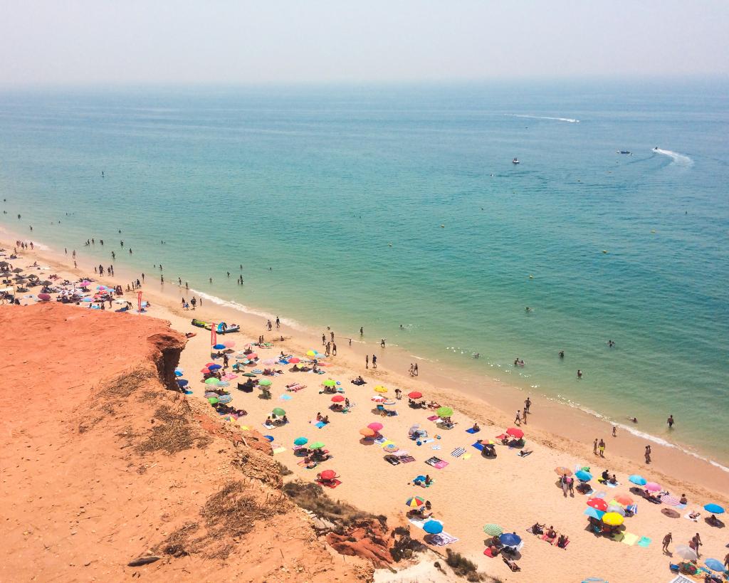 Praias portuguesas - da falésia