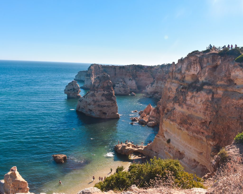 Praias portuguesas - praia da marinha