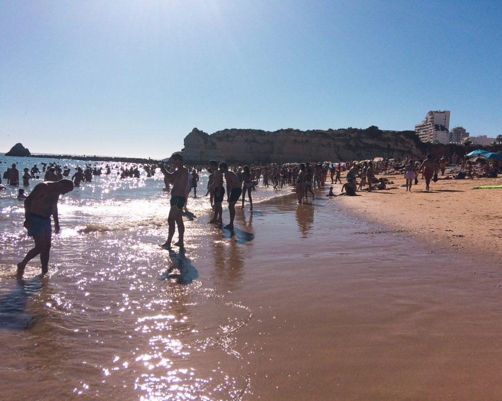 Praias portuguesas - praia da rocha