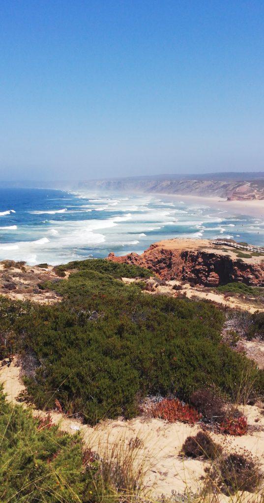 Praias portuguesas - praia da bordeira