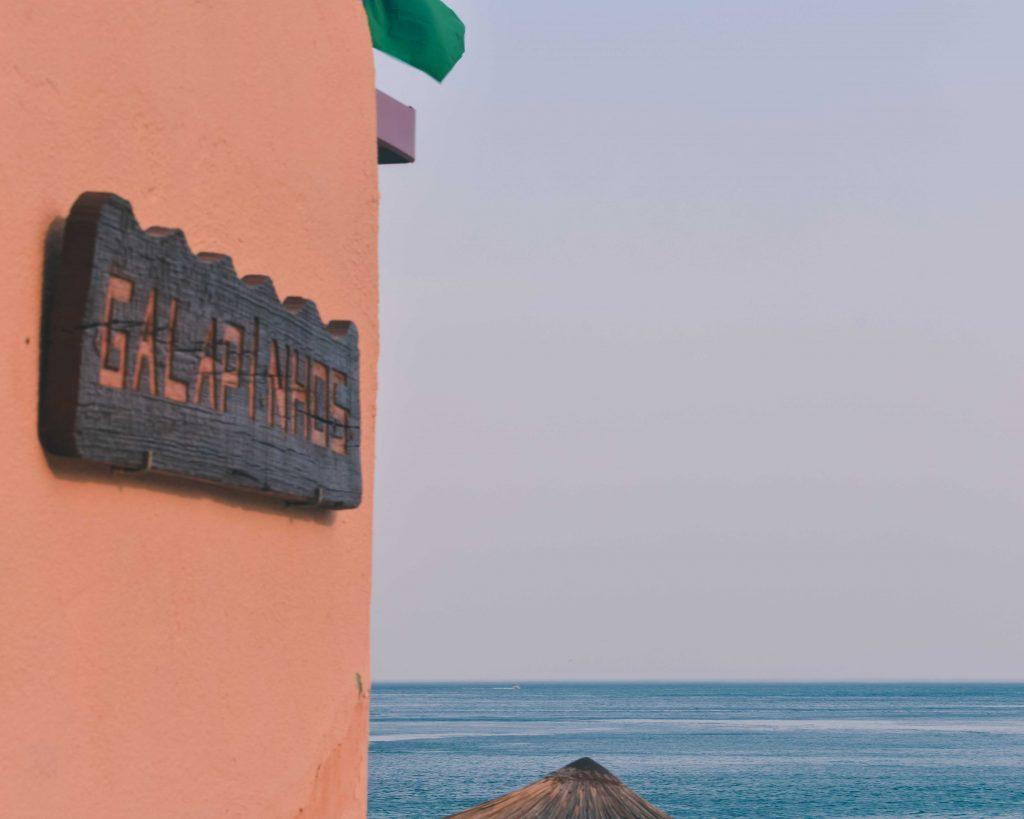 Serra da Arrábida: Bar Praia dos Galapinhos