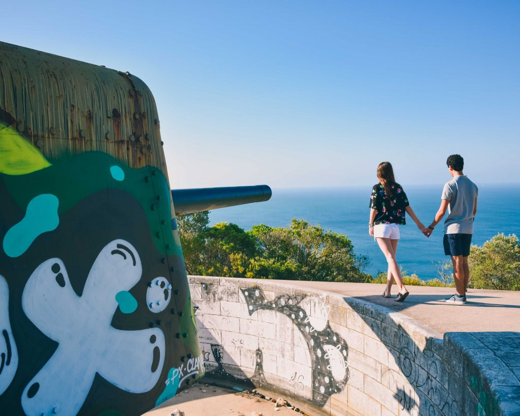 Serra da Arrábida: Canhões Sétima Bataria