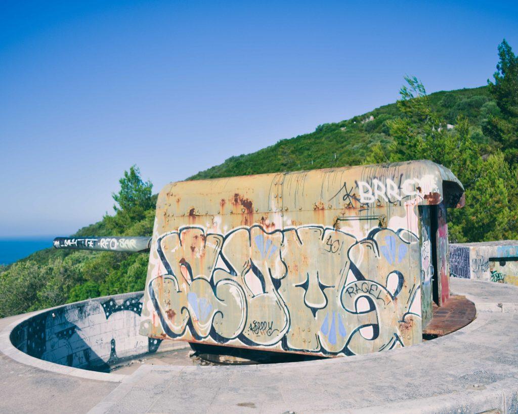 Serra da Arrábida: Canhões 7 Bataria