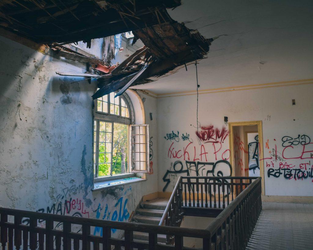 Serra da Arrábida: Escadaria Palácio da Comenda