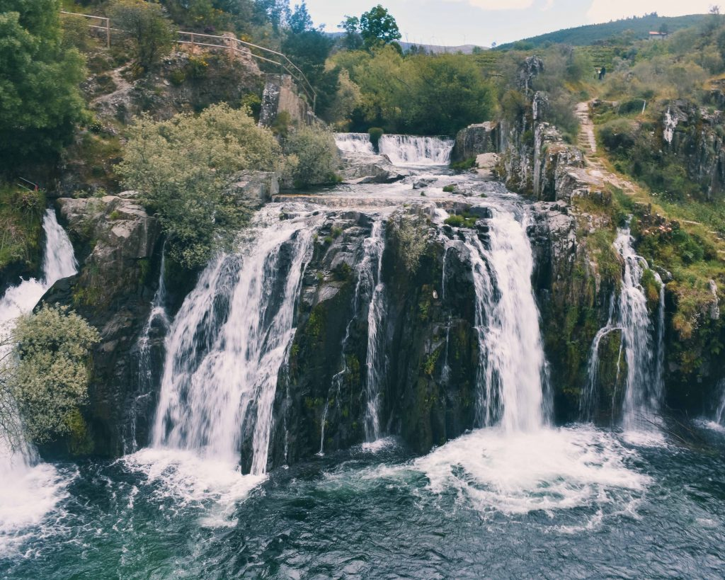 Grande cascata Poço da Broca