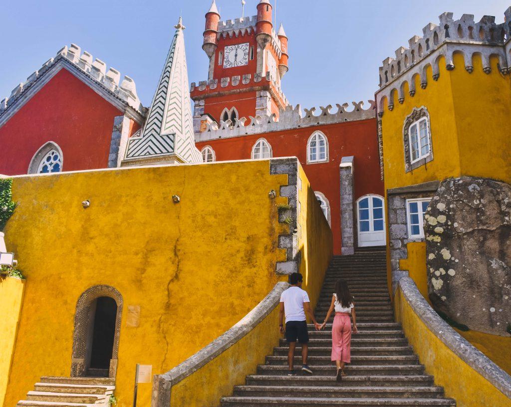 Top 10 dos locais mais bonitos de Portugal - Palácio da Pena