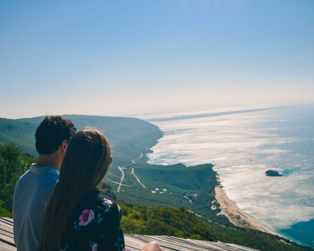 Serra da Arrábida: Miradouro do Portinho da Arrábida