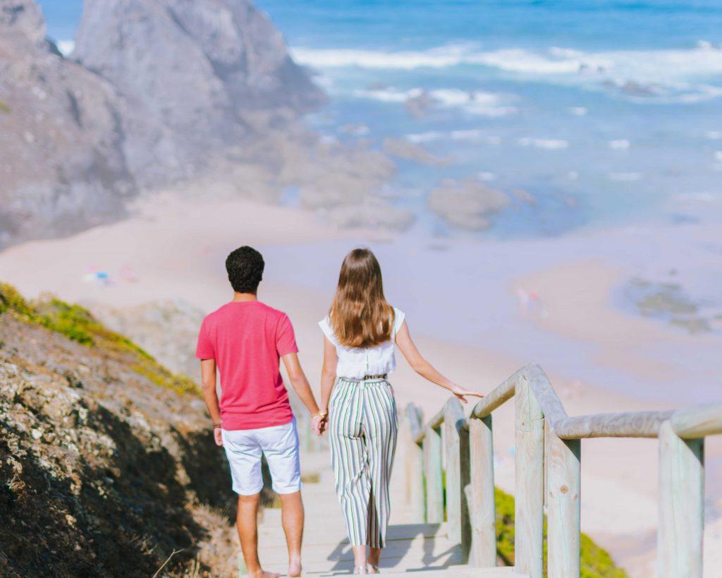 Costa Vicentina Passadiços Praia Vale dos  Homens