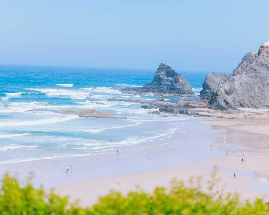 Costa Vicentina na Praia de Odeceixe