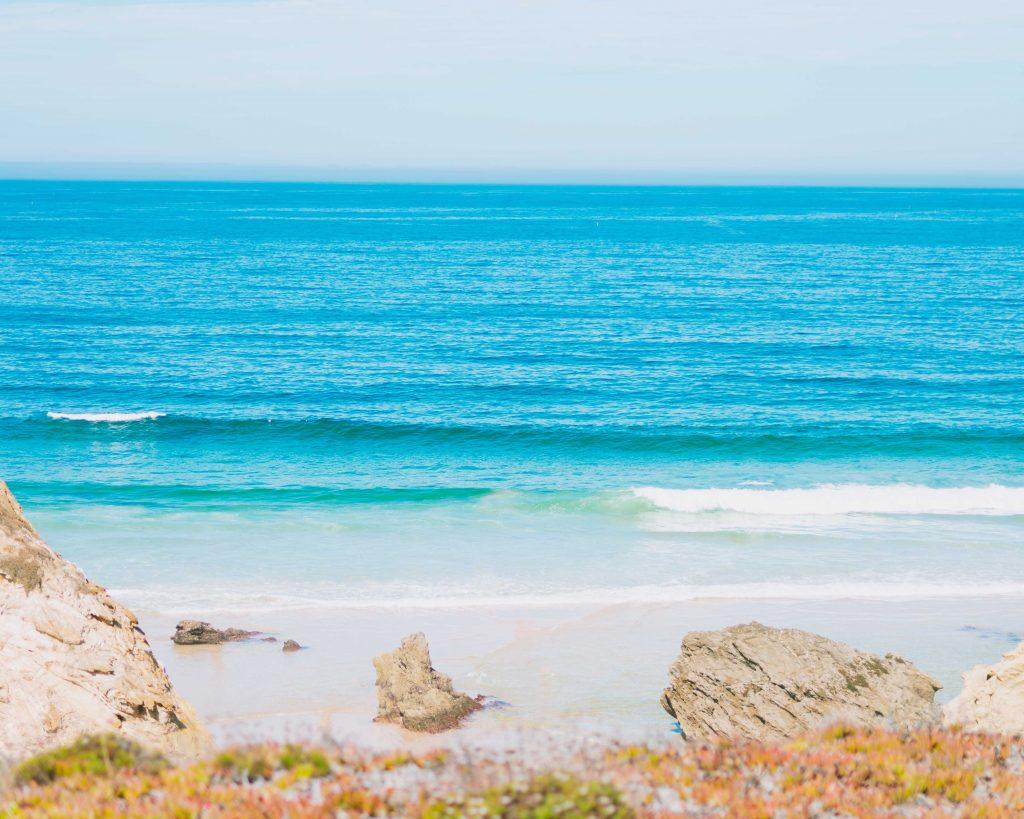 Na Praia da Samoqueira