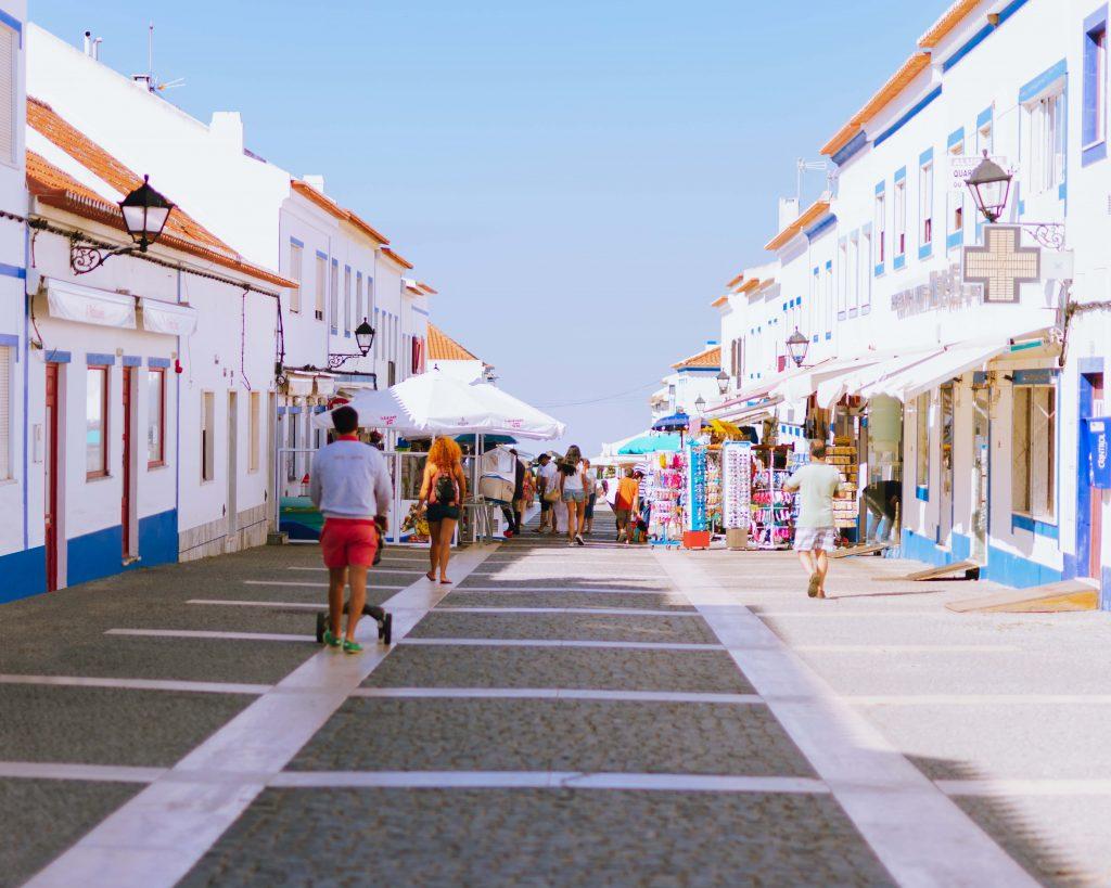 Ruas de Porto Covo