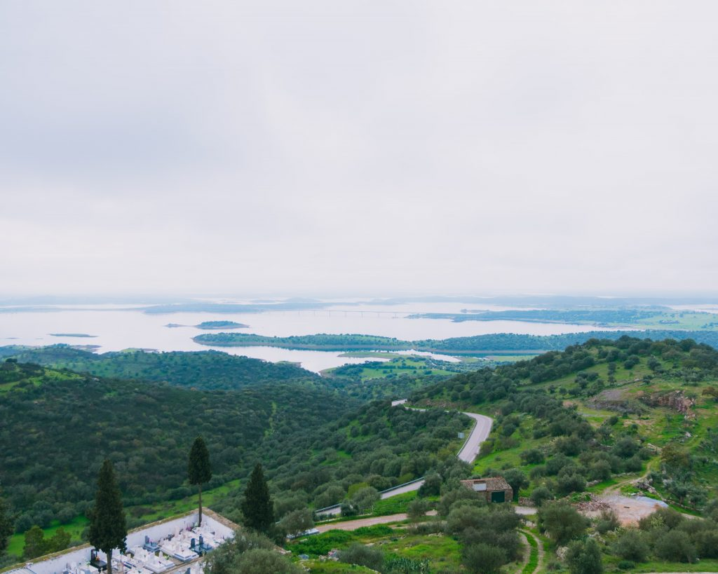 Alqueva vista do Castelo de Monsaraz
