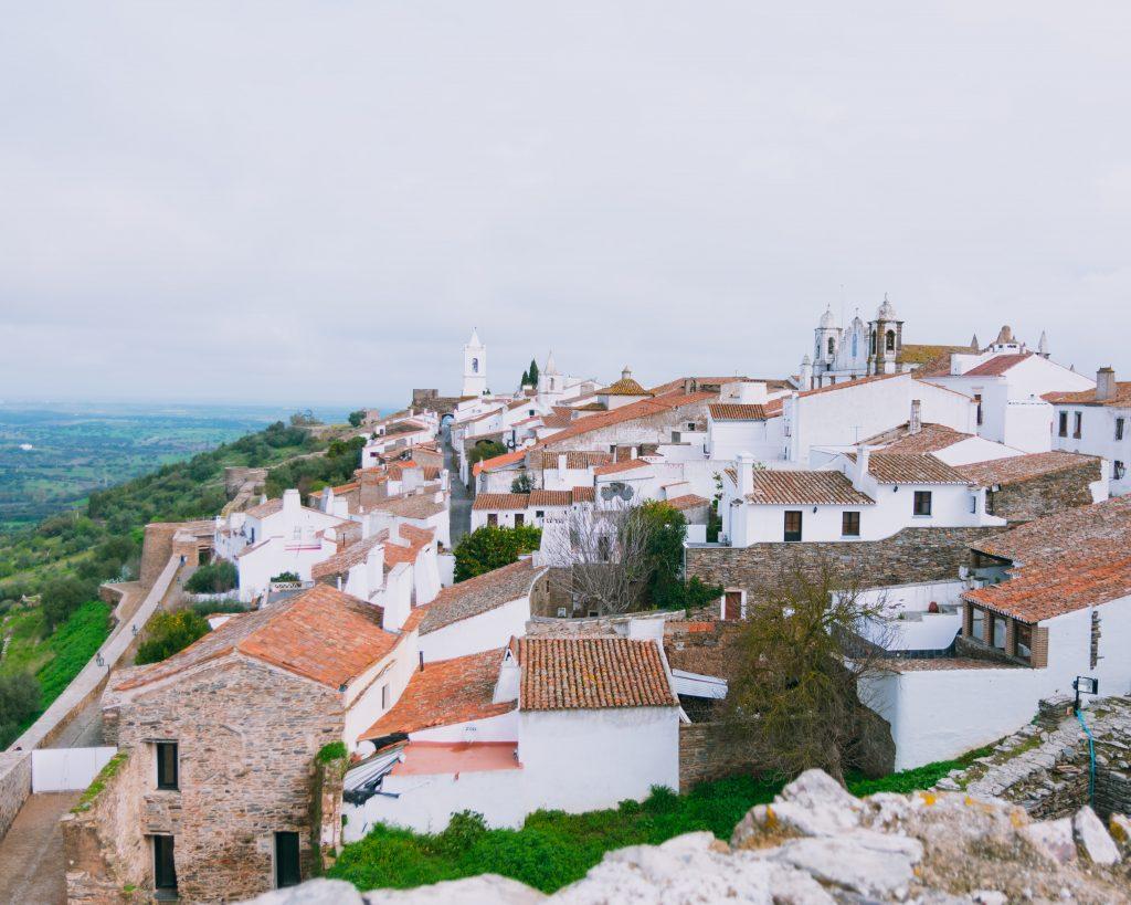 Vista do Castelo de Monsaraz