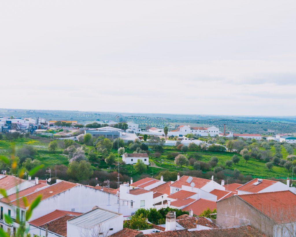 Vista Castelo de Moura