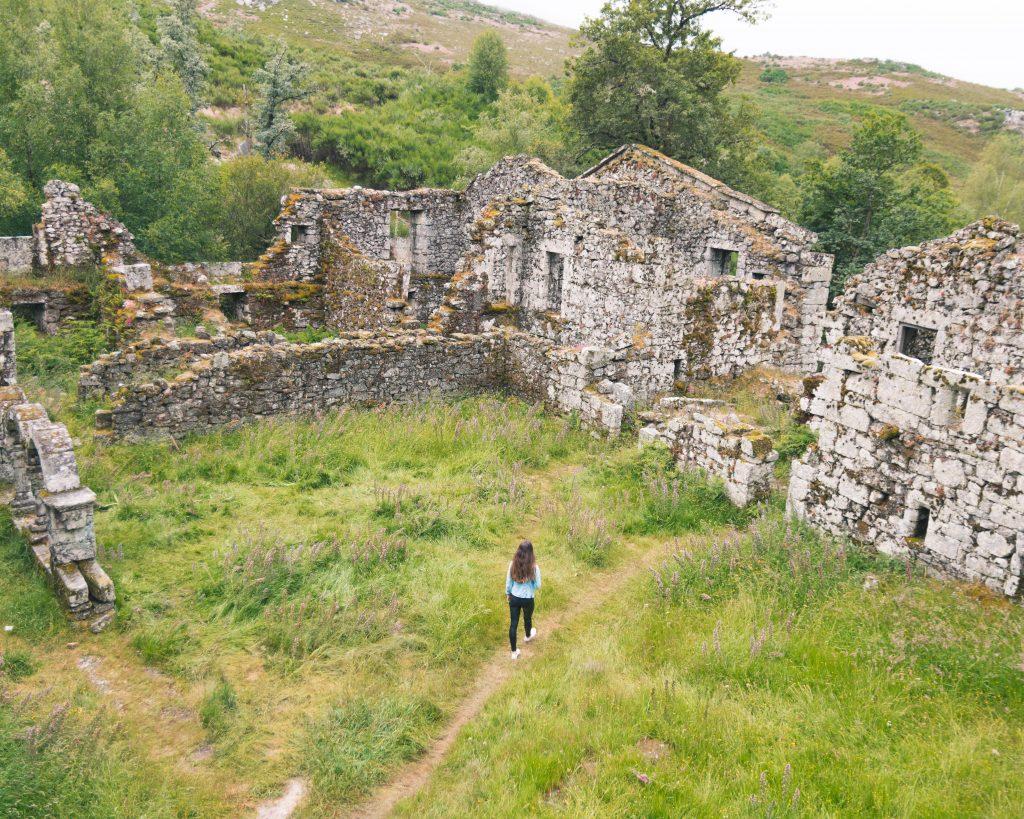 Gerês o que visitar - ruínas mosteiro