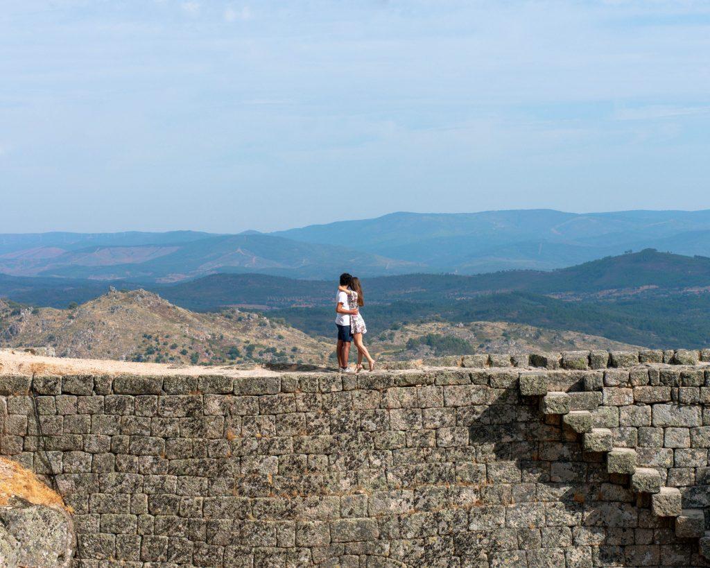 Beira Baixa Muralha Castelo de Monsanto
