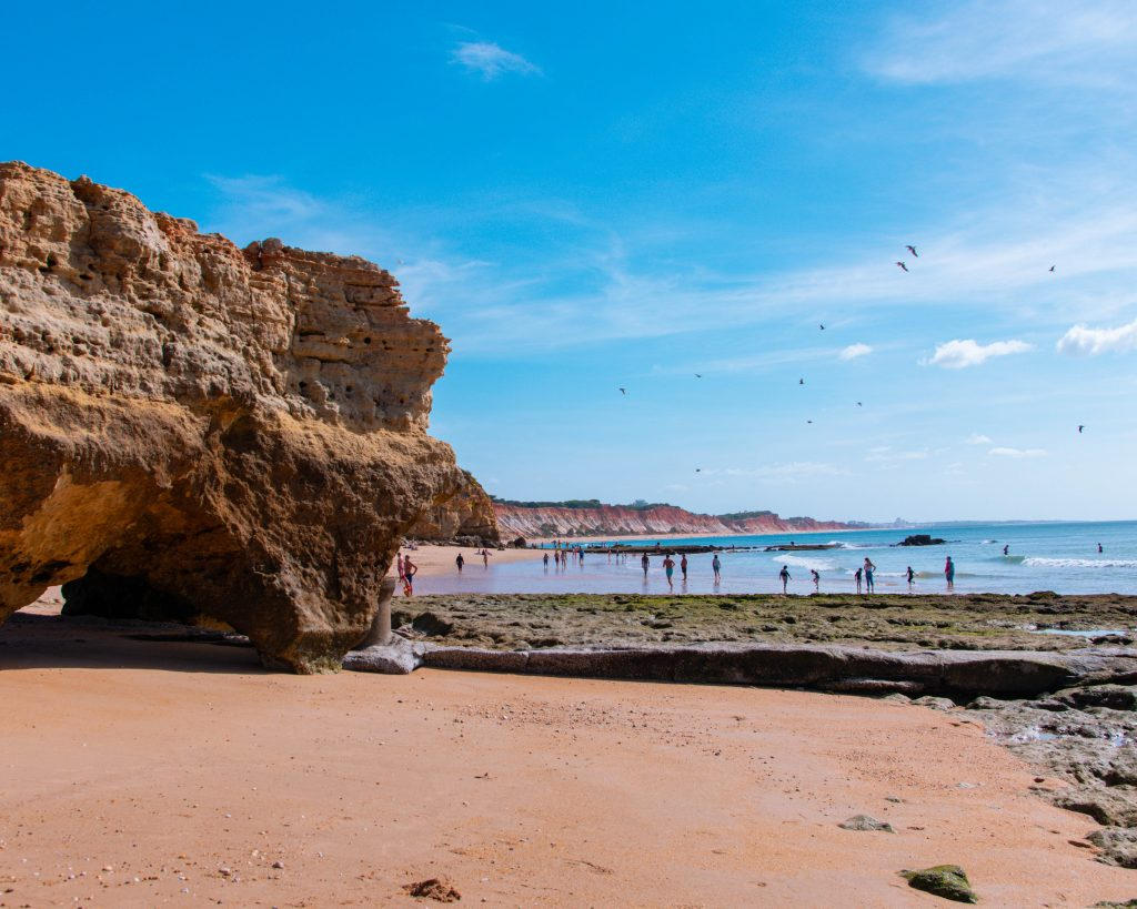 Albufeira praias, Algarve